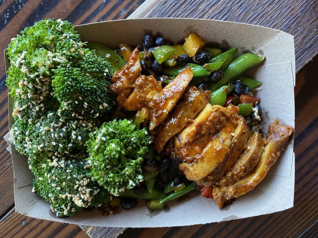 Chicken, Veggie and Grain Bowl