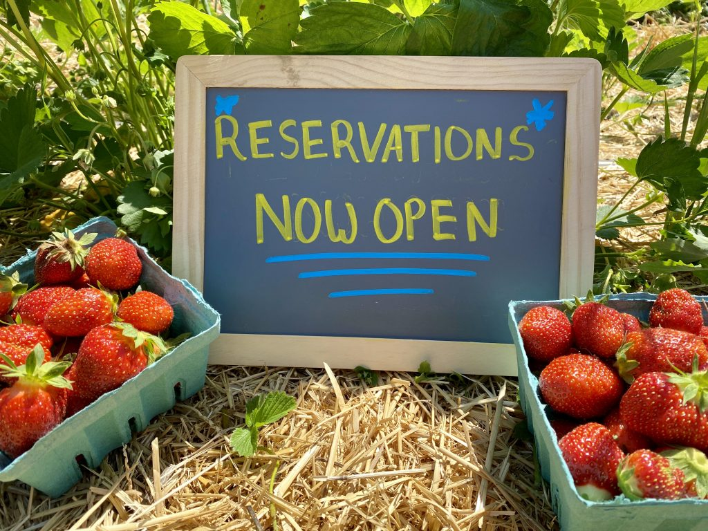 Sign reading reservations now open
