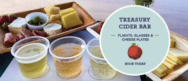click for treasury cider information and reservations